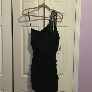 Formal one shoulder dress